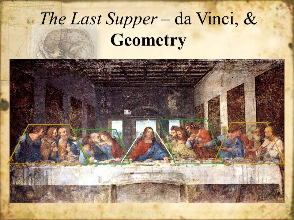 The Last Supper – da Vinci, & Geometry