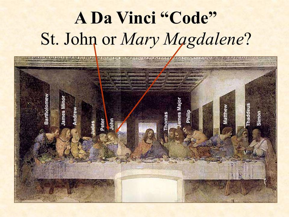 A Da Vinci Code St. John or Mary Magdalene