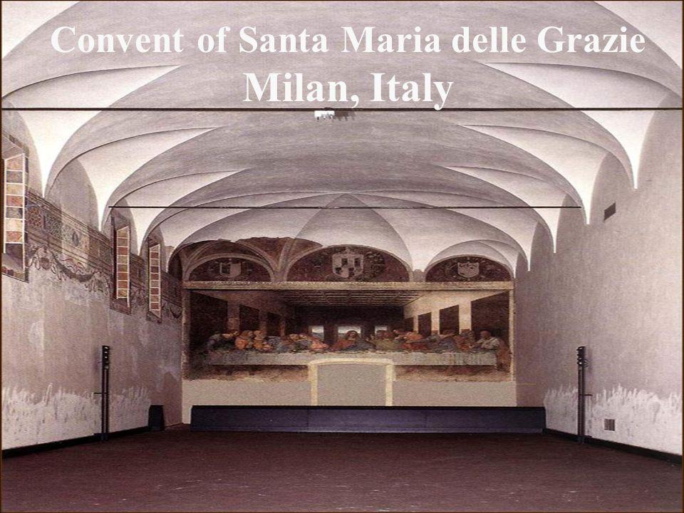 Convent of Santa Maria delle Grazie Milan, Italy