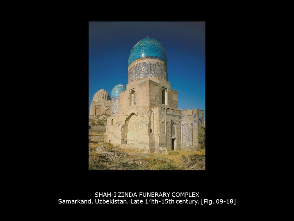 SHAH-I ZINDA FUNERARY COMPLEX Samarkand, Uzbekistan