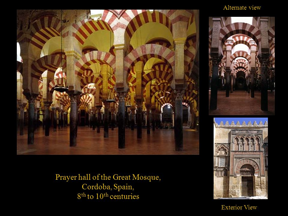 Prayer hall of the Great Mosque,