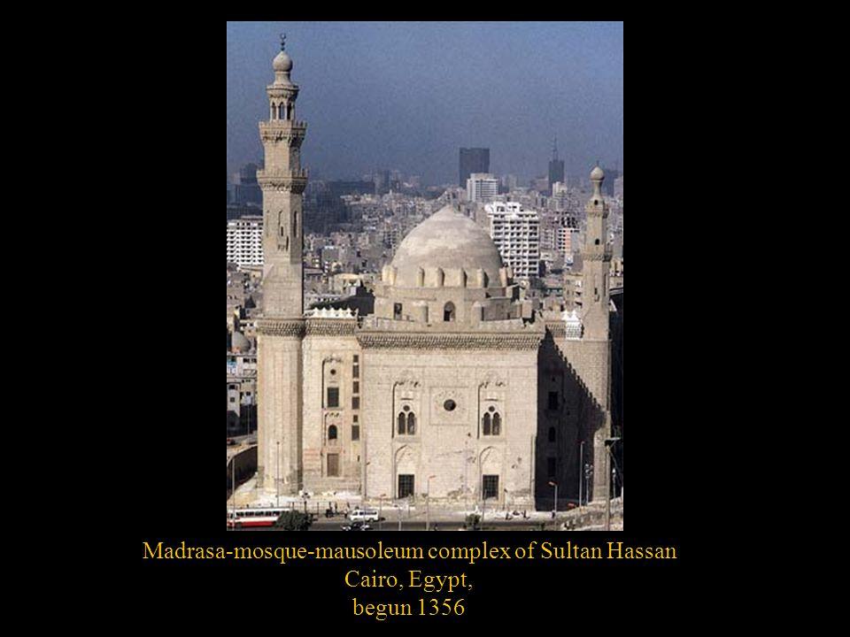 Madrasa-mosque-mausoleum complex of Sultan Hassan