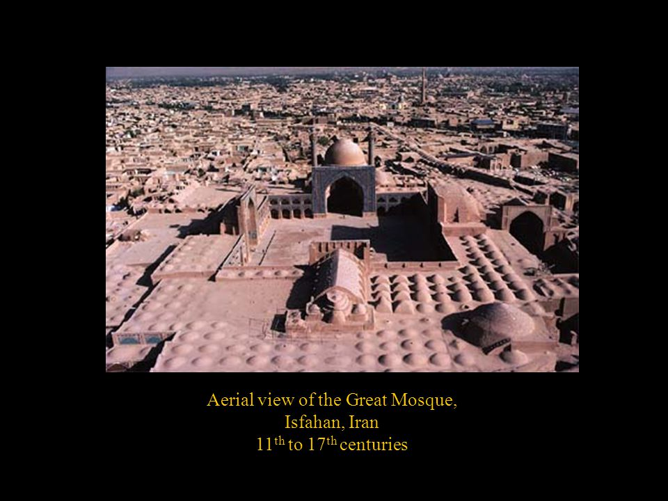 Aerial view of the Great Mosque,
