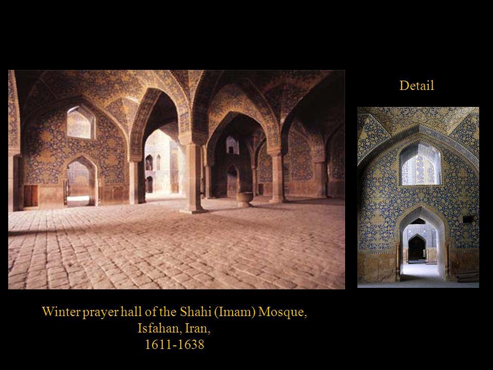 Winter prayer hall of the Shahi (Imam) Mosque,
