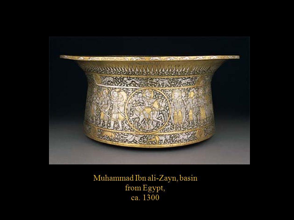 Muhammad Ibn ali-Zayn, basin