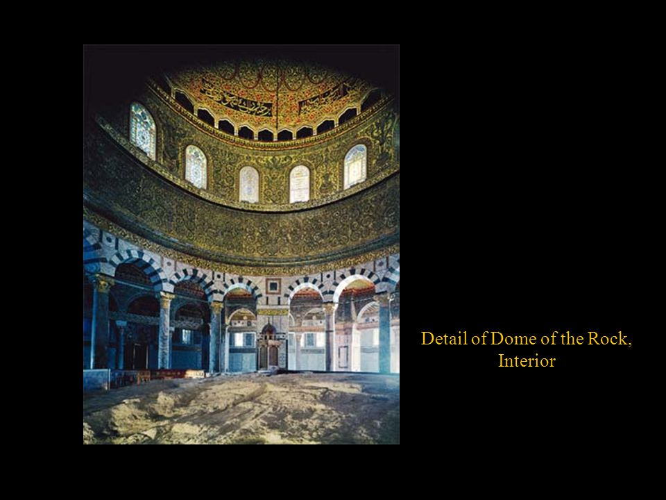 Detail of Dome of the Rock,