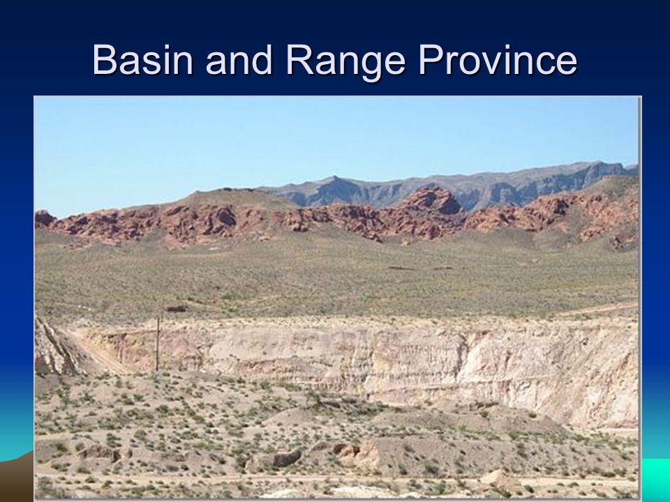 Basin and Range Province