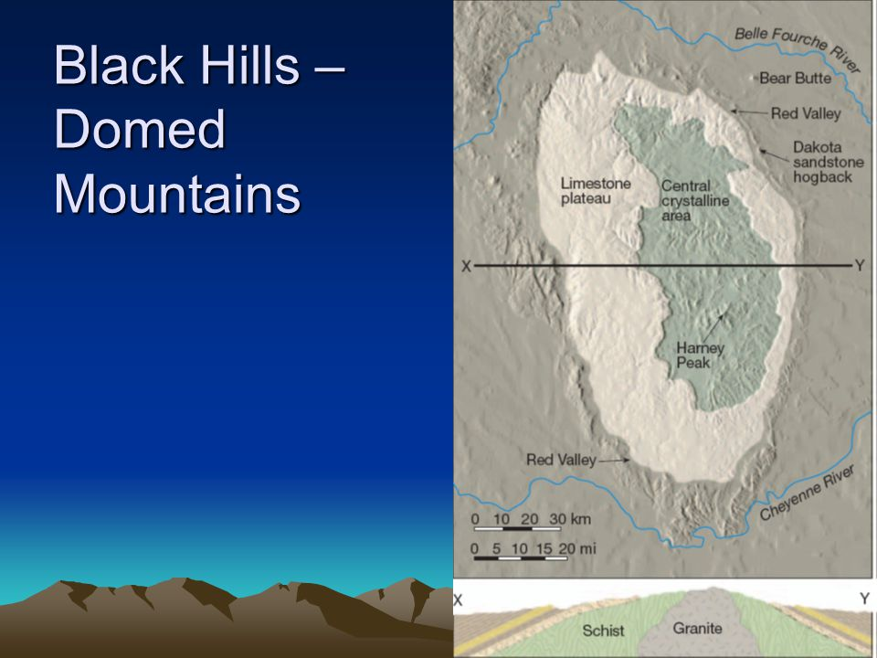 Black Hills – Domed Mountains