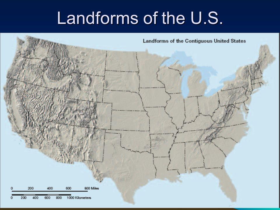 Landforms of the U.S.