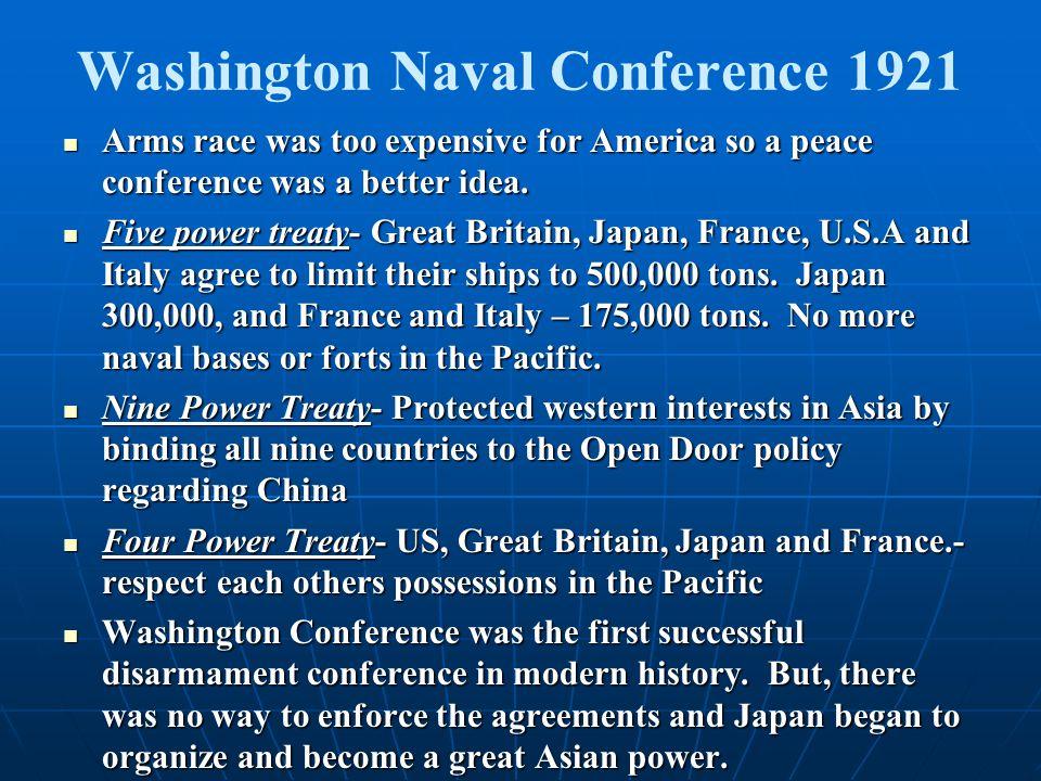 Washington Naval Conference 1921