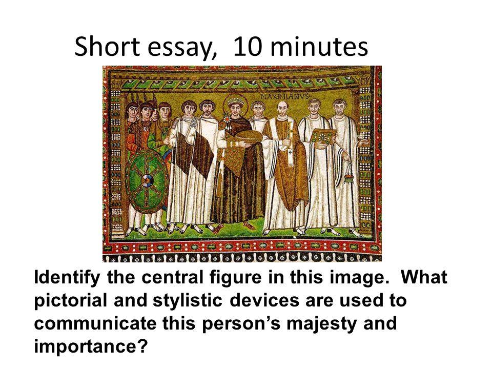 Short essay, 10 minutes