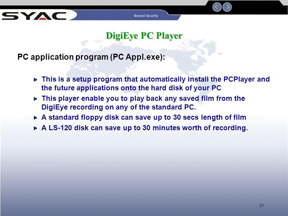 PC application program (PC Appl.exe):