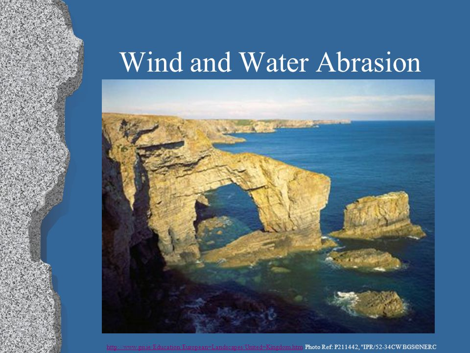 Wind and Water Abrasion