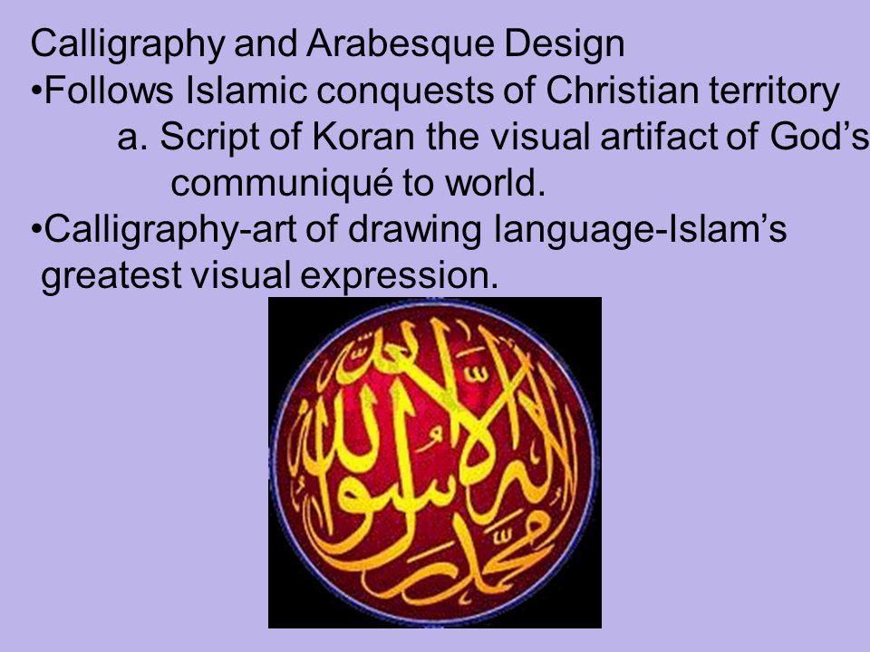 Calligraphy and Arabesque Design