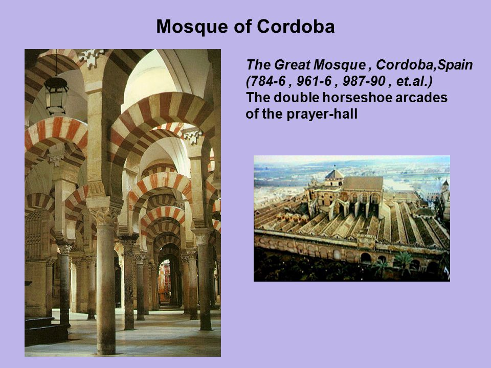 Mosque of Cordoba The Great Mosque , Cordoba,Spain