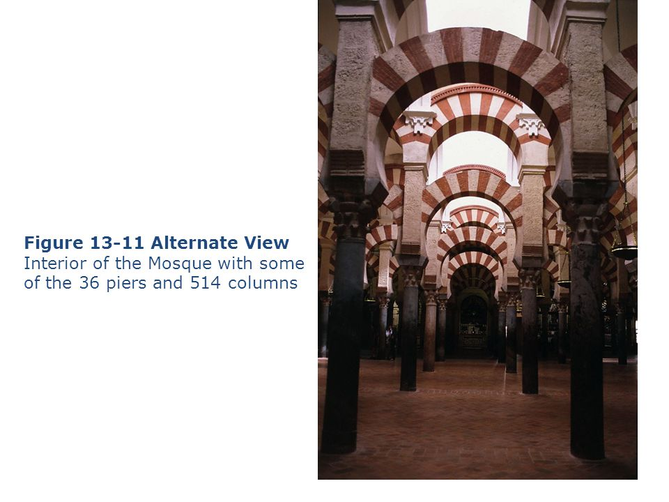 Figure 13-11 Alternate View Interior of the Mosque with some
