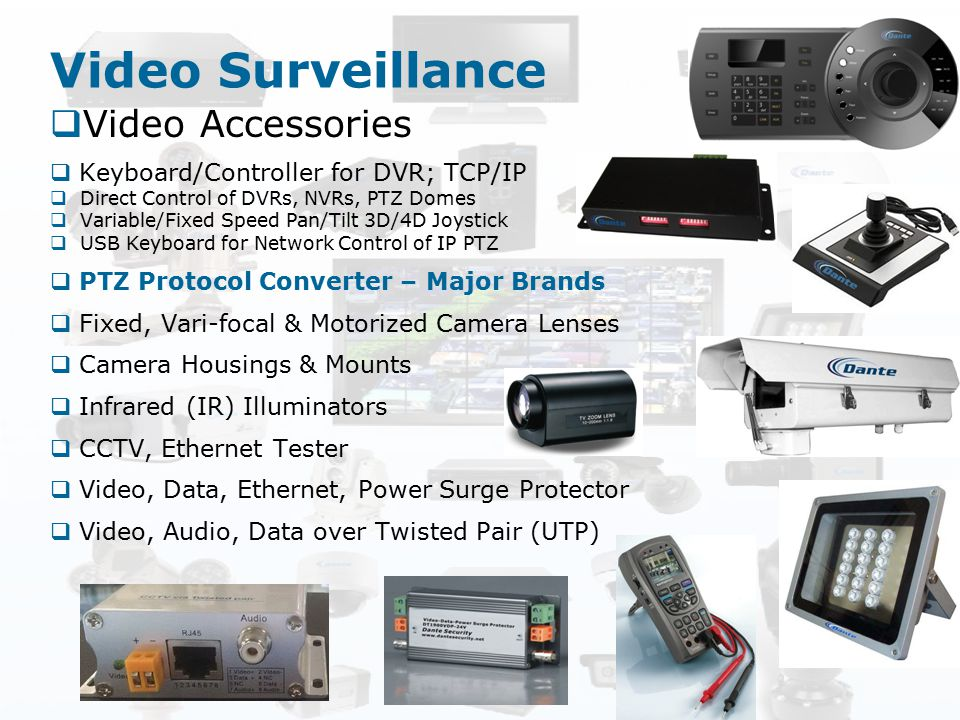 Video Surveillance Video Accessories