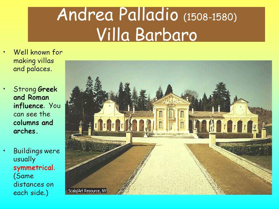 Andrea Palladio (1508-1580) Villa Barbaro
