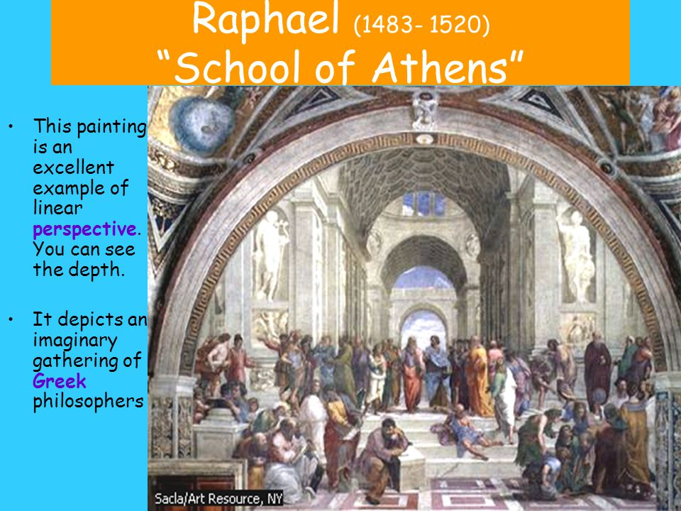 Raphael (1483- 1520) School of Athens