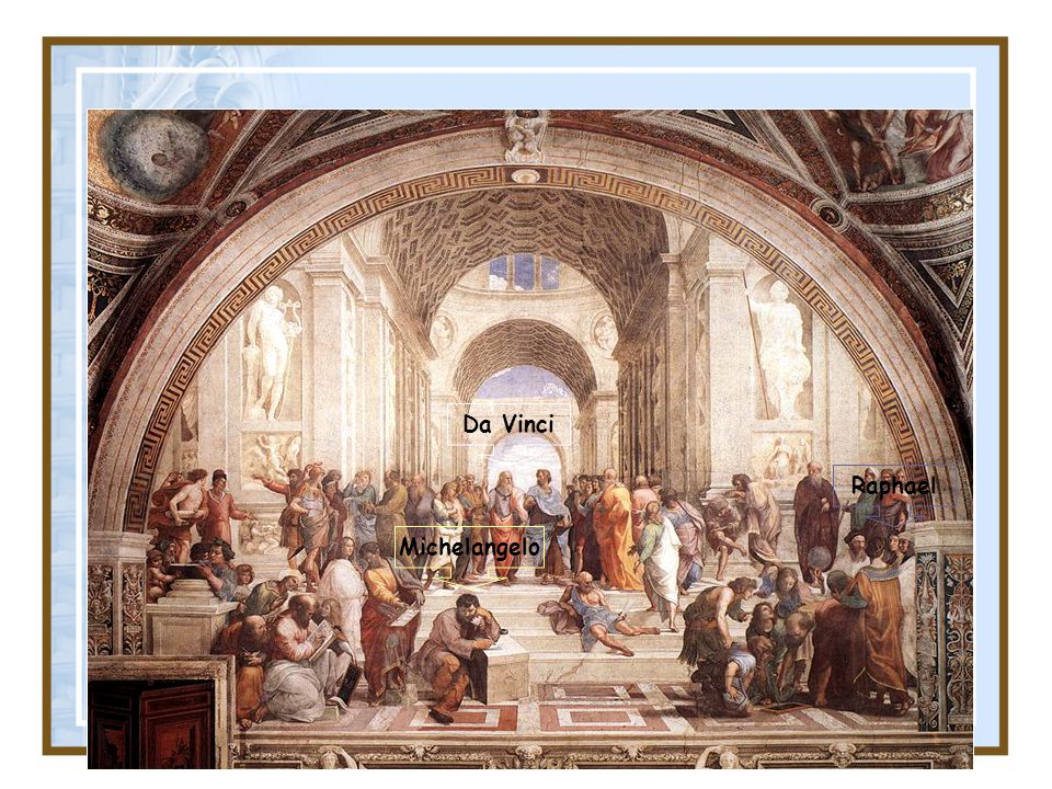 Da Vinci Raphael Michelangelo