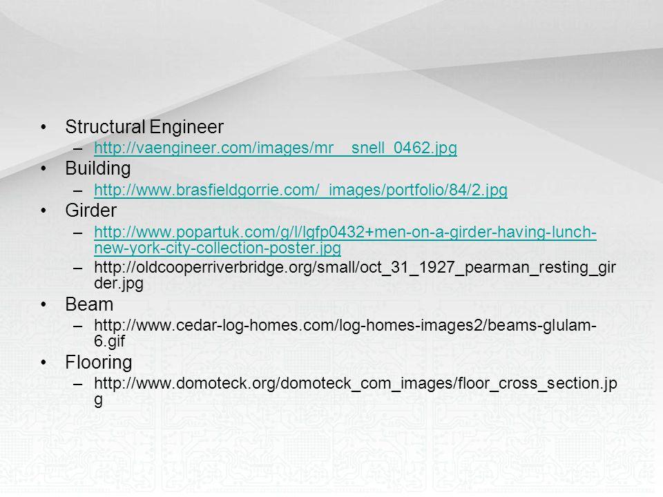 Structural Engineer Building Girder Beam Flooring