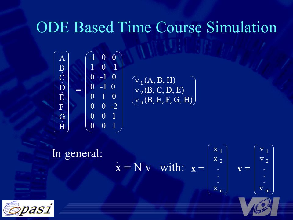 ODE Based Time Course Simulation