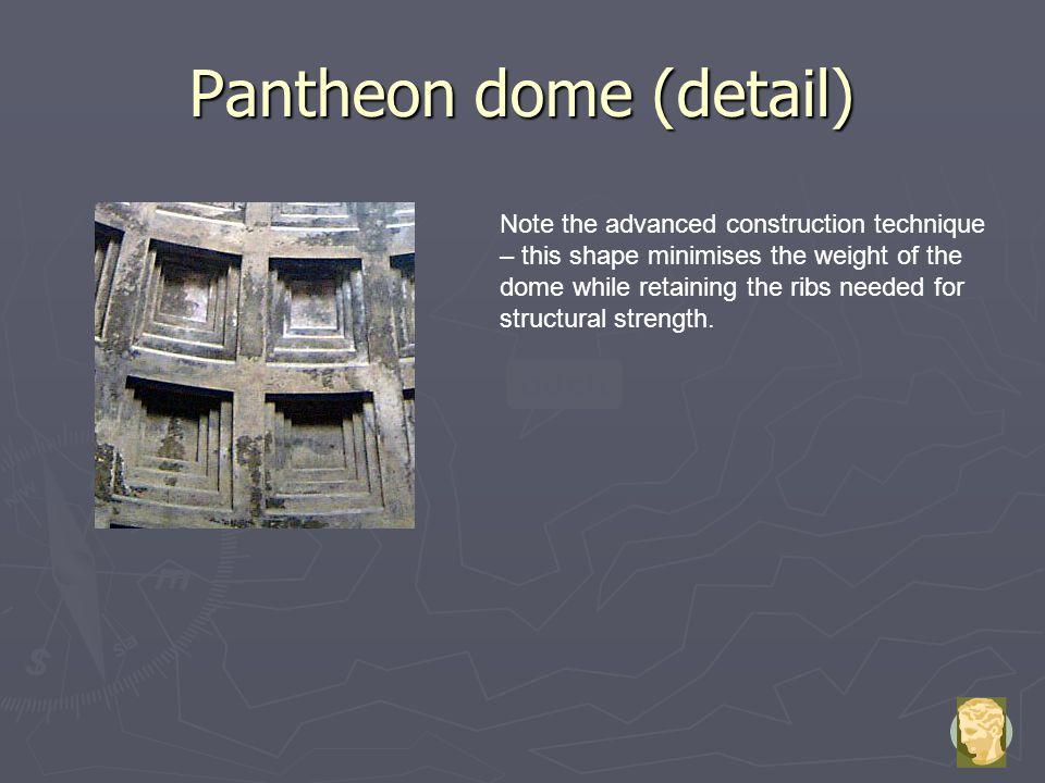 Pantheon dome (detail)