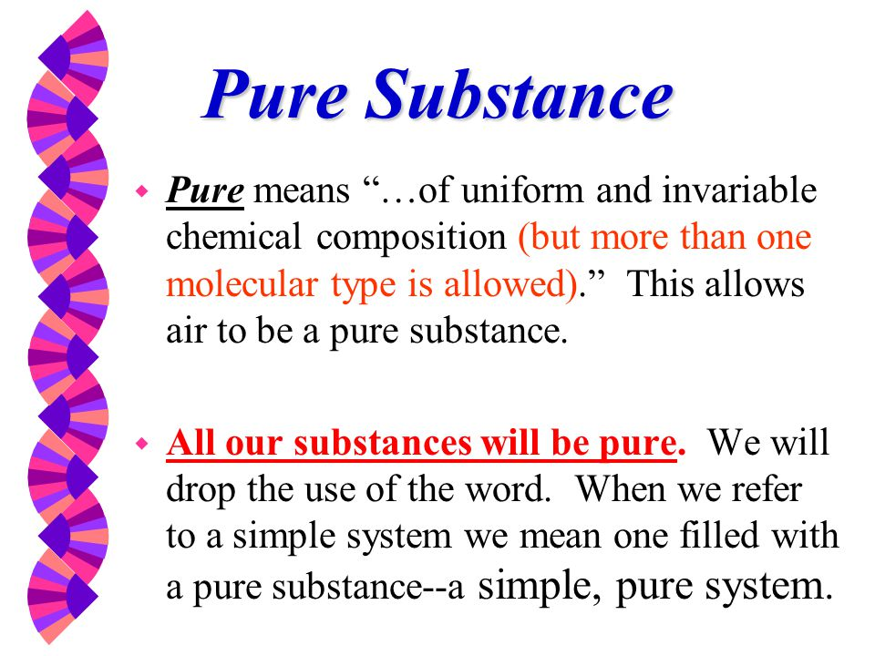 Properties Of Pure Substances Ppt Video Online Download