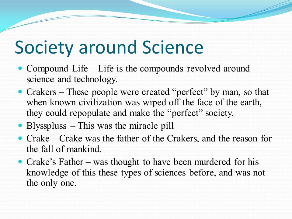 Society around Science