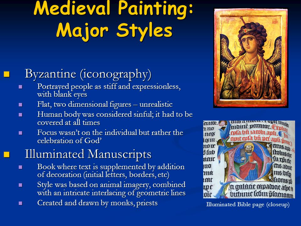 Medieval Painting: Major Styles