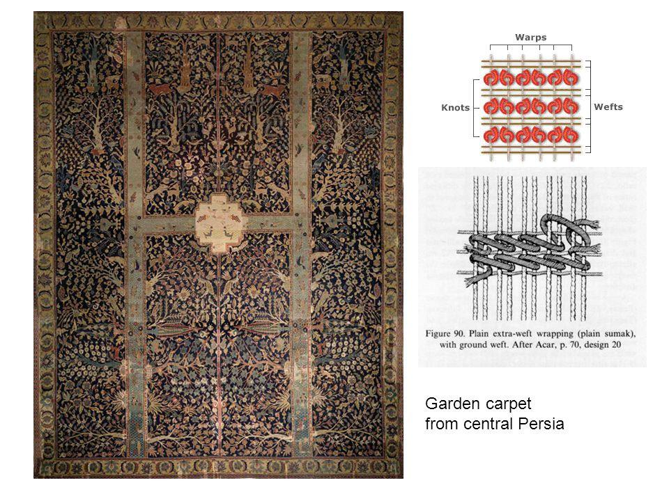 Garden carpet from central Persia see page 364 Garden carpet