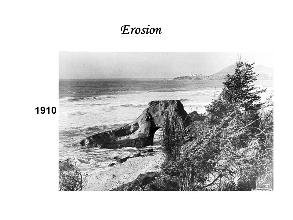 Erosion Still the same rock. 1910.