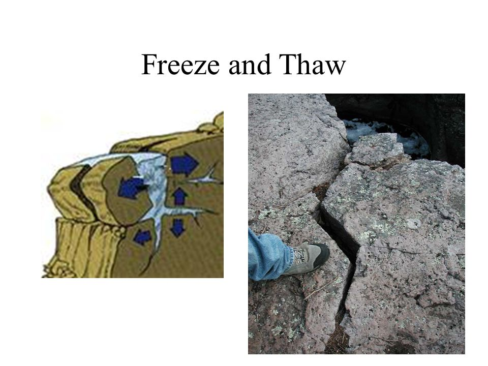 Freeze and Thaw