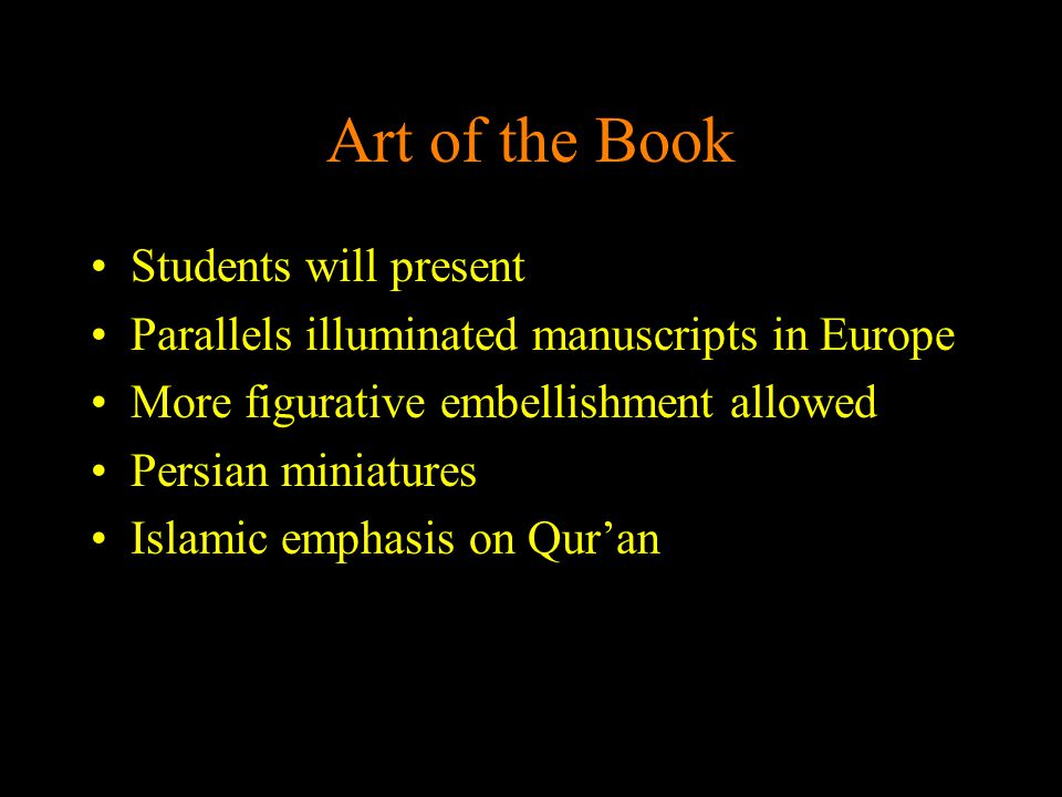 Art of the Book Students will present