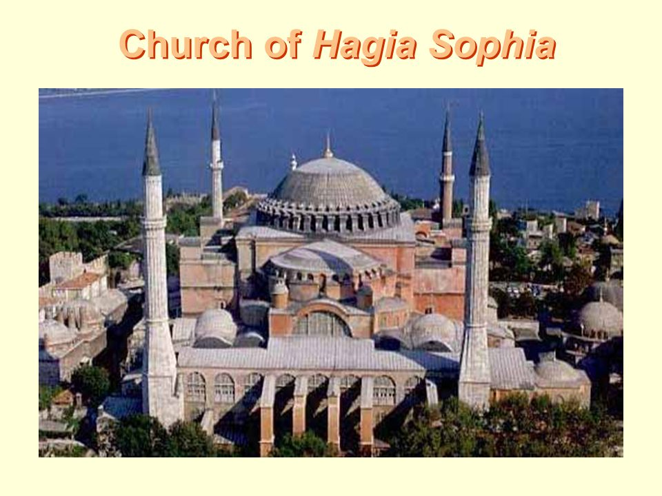 Church of Hagia Sophia