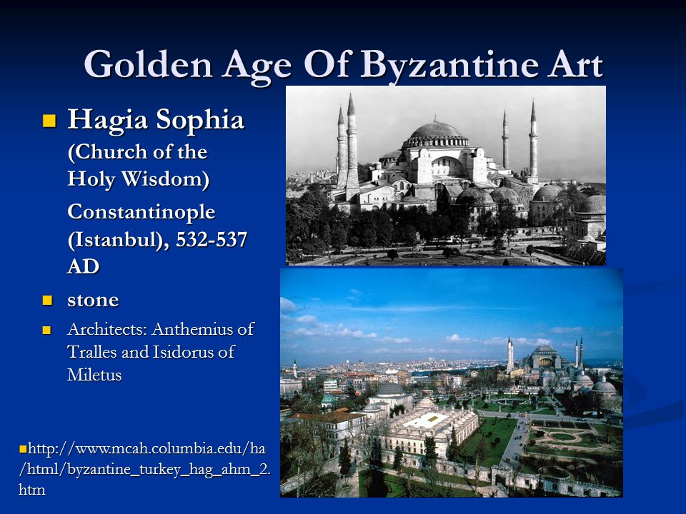 Golden Age Of Byzantine Art