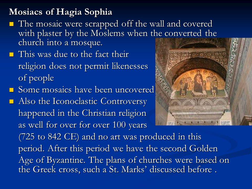 Mosiacs of Hagia Sophia