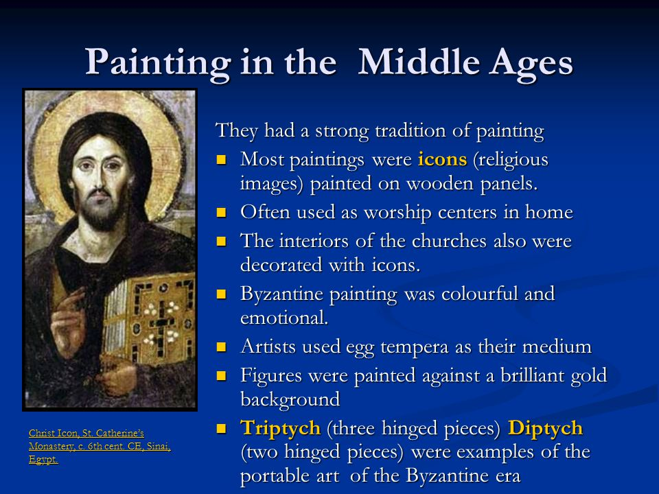 Painting in the Middle Ages