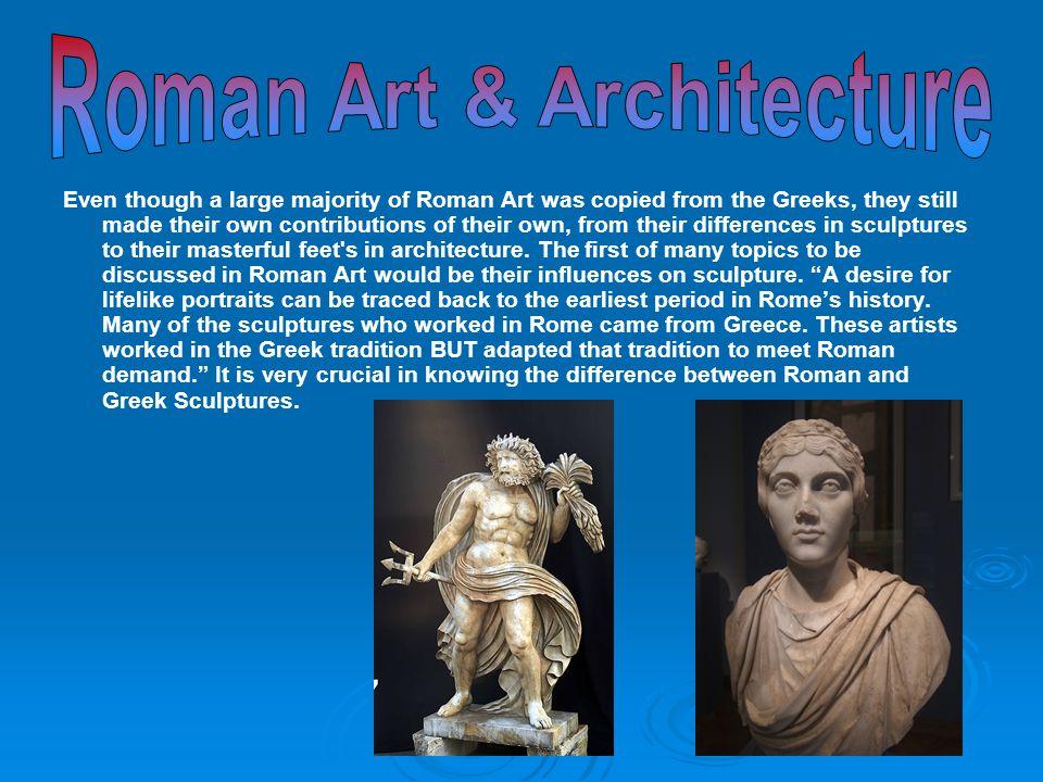 Roman Art & Architecture
