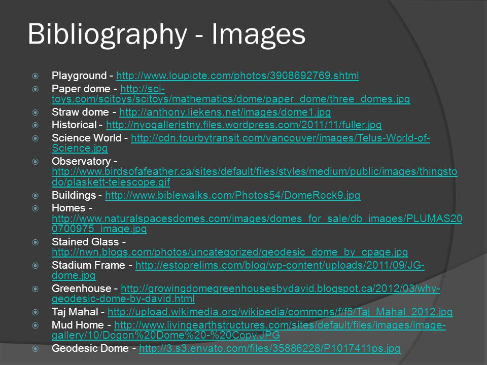Bibliography - Images Playground - http://www.loupiote.com/photos/3908692769.shtml.