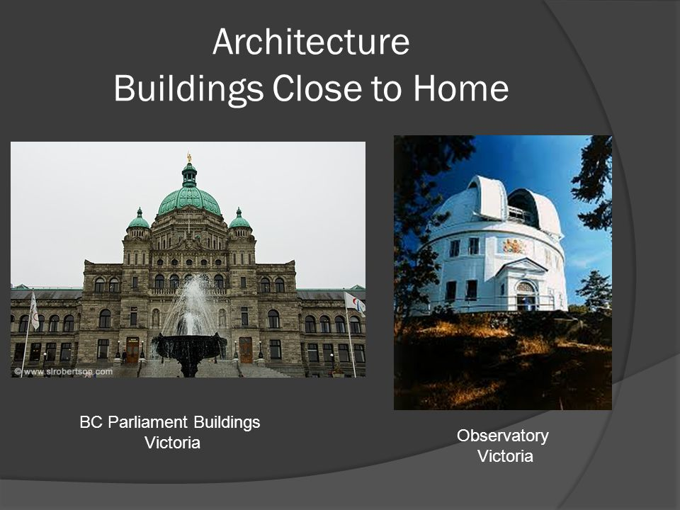 Architecture Buildings Close to Home