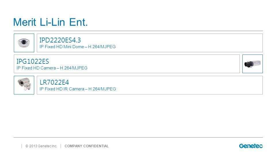 Merit Li-Lin Ent. IPD2220ES4.3 IPG1022ES LR7022E4
