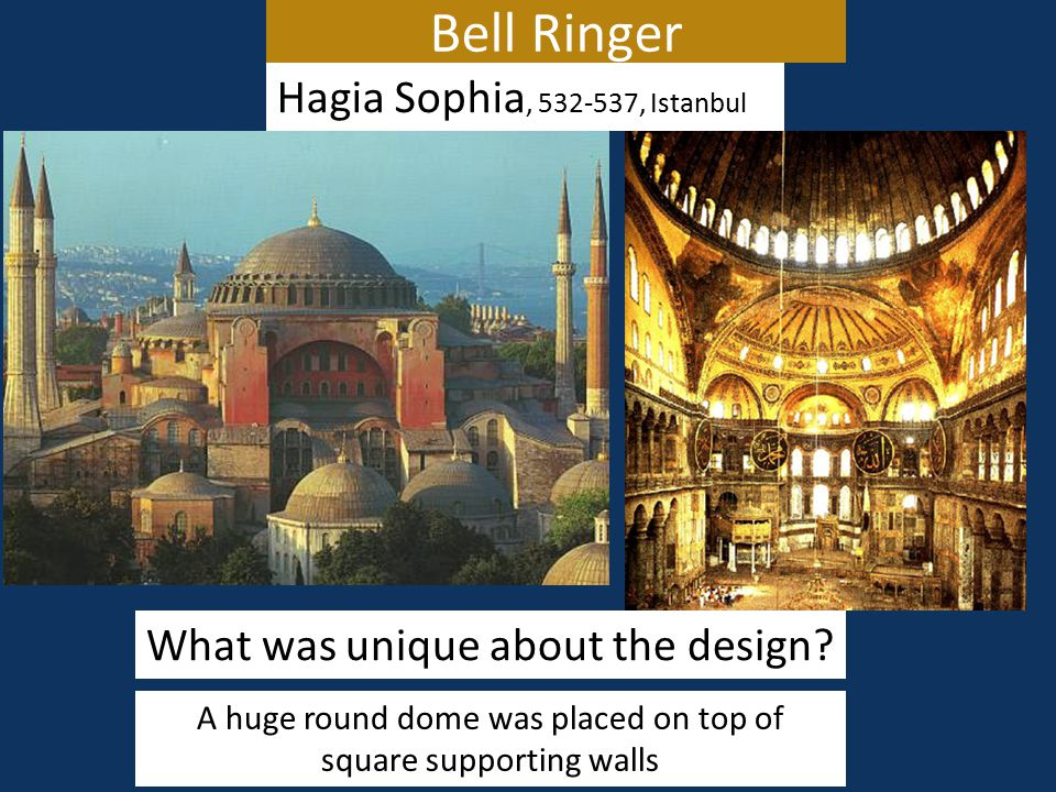 Bell Ringer Hagia Sophia, 532-537, Istanbul