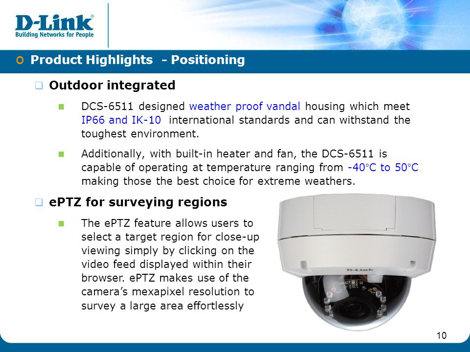 Product Highlights - Positioning