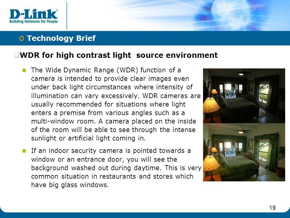 WDR for high contrast light source environment