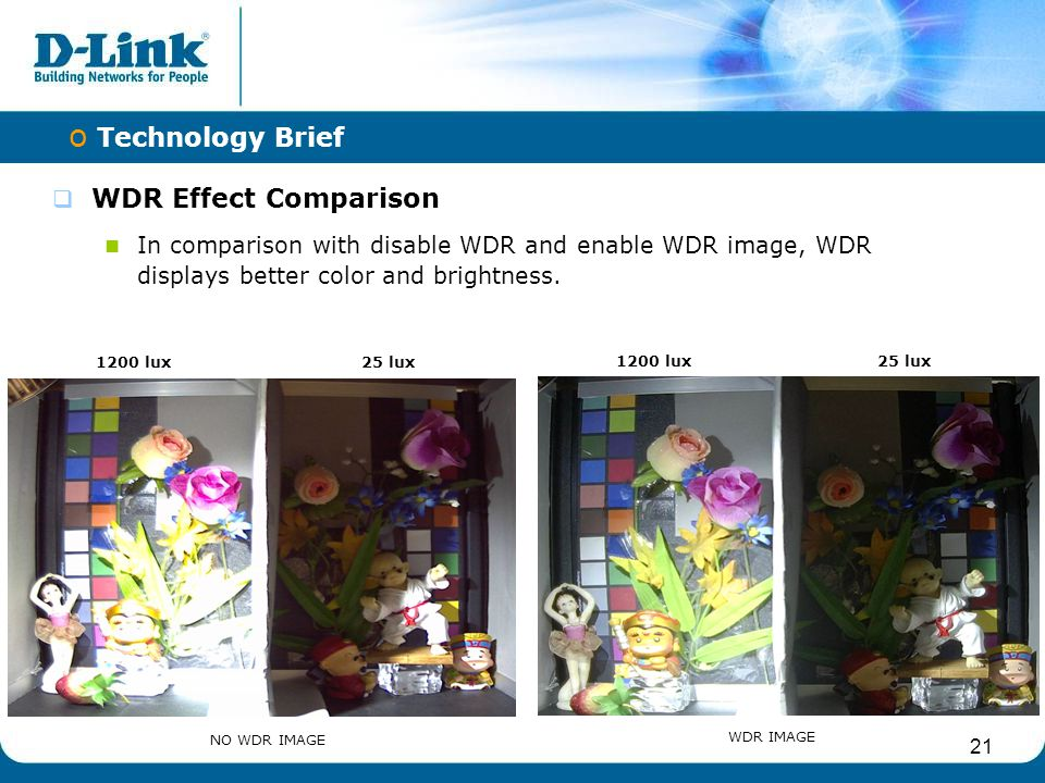 Technology Brief WDR Effect Comparison