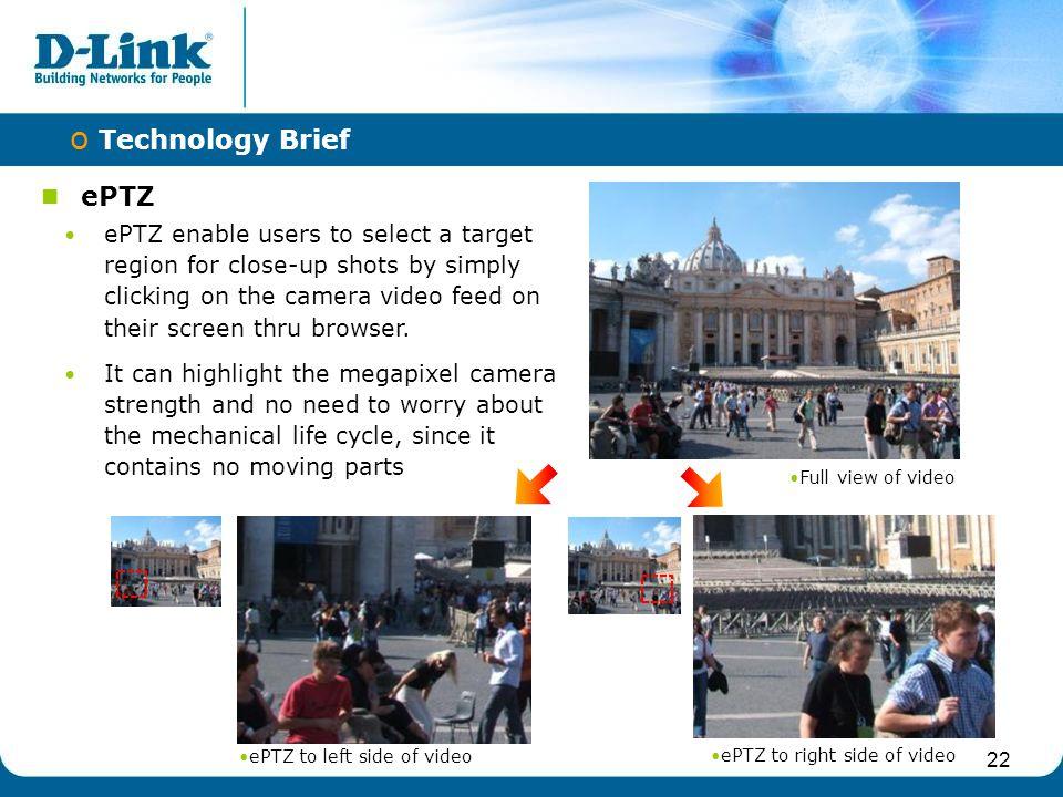 Technology Brief ePTZ.