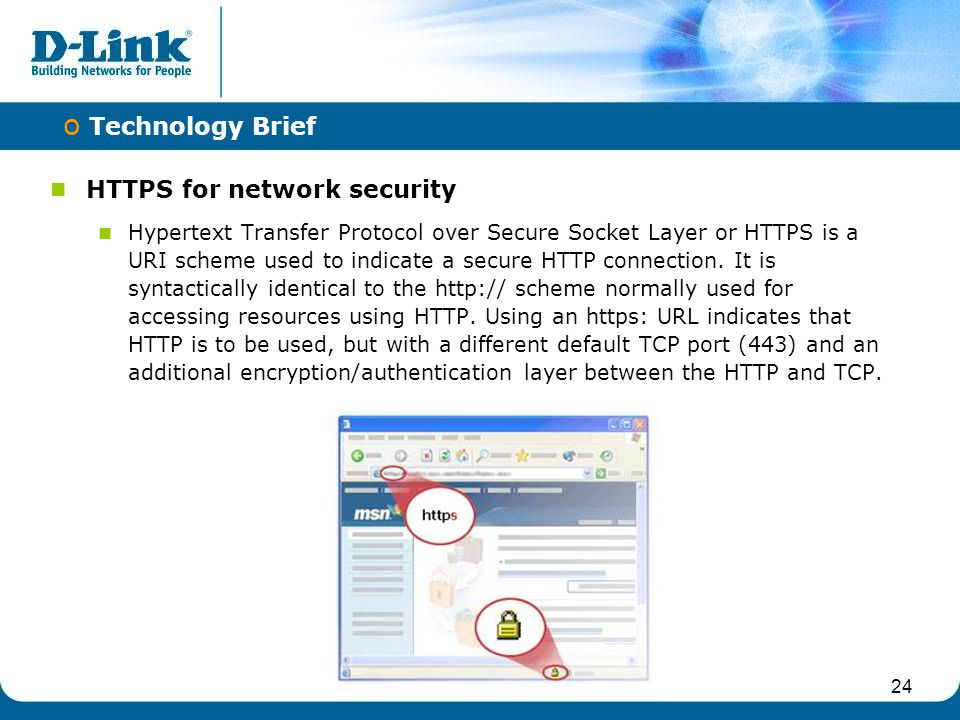 HTTPS for network security