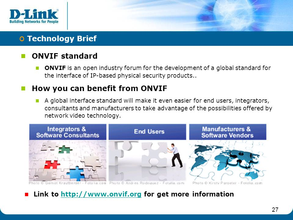 How you can benefit from ONVIF