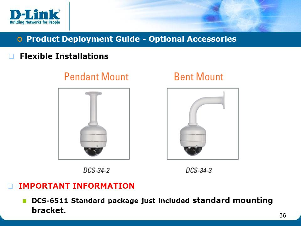 Product Deployment Guide - Optional Accessories